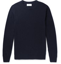 Hardy Amies Slim Fit Cashmere Sweater Navy