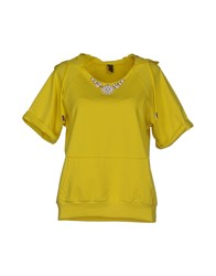 Jijil Topwear Sweatshirts Women Yellow