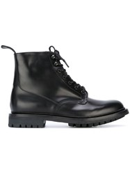 Church's Ankle Combat Boots Black