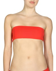 Laura Urbinati Bikini Tops Red