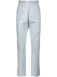 Cerruti 1881 Straight Leg Trousers Blue
