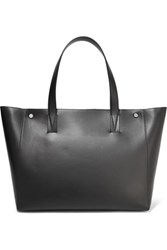 Vince Leather Tote Black
