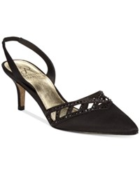 Adrianna Papell Haven Evening Pumps Women's Shoes Black