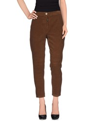 Toy G. Trousers Casual Trousers Women Brown