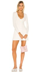 Privacy Please Beatrice Mini Dress In White.