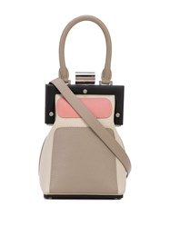 Perrin Paris La Minaudiere Shoulder Bag Neutrals
