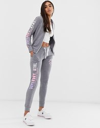 Superdry Track And Field Logo Joggers Grey