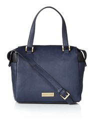 Dickins And Jones Menna Cross Body Bowler Handbag Navy