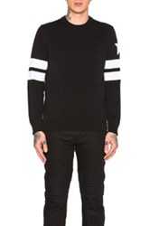 Givenchy Banded Sleeve Sweater In Black