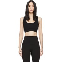 Live The Process Black Transcend Sports Bra