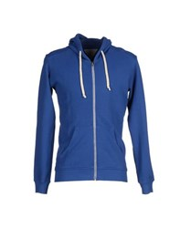 Macchia J Topwear Sweatshirts Men Bright Blue