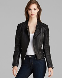 Dawn Levy New York Jacket Turtle Moto Leather