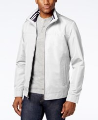 Nautica Men's Zip Front Active Jacket Silver