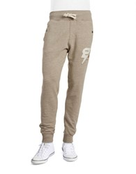 G Star Ribbed Cuff Sweatpants Grey