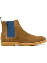 Paul Smith Ps By Classic Chelsea Boots Brown