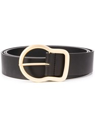 Dorothee Schumacher Large Buckle Belt Black