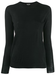 Tom Ford Crew Neck Jumper Black