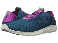 New Balance Vazee Coast V2 Teal Purple Women's Running Shoes Blue