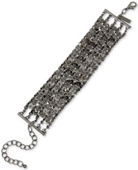 Inc International Concepts Hematite Tone Chain Link Bracelet Only At Macy's Gray