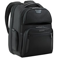 Briggs And Riley Clamshell 17' Laptop Backpack Black