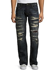Cult Of Individuality Hagen Relaxed Distressed Jeans Rail