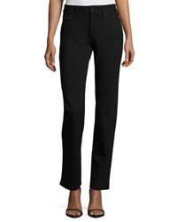 Nydj Marilyn Straight Leg Ponte Pants Black