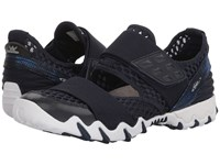 Allrounder By Mephisto Neo Indigo Open Mesh Hook And Loop Shoes Black