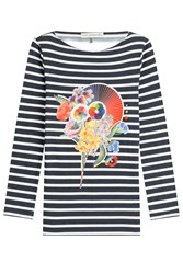 Mary Katrantzou Printed Cotton Top Multicolor