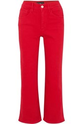 3X1 W4 Shelter Cropped High Rise Flared Jeans 29