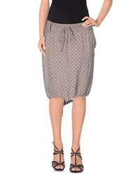 Giorgia And Johns Giorgia And Johns Skirts Knee Length Skirts Women Grey