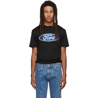 Versace Black Ford Edition Logo T Shirt