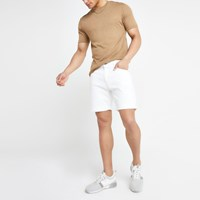 River Island Pepe Jeans White Belife Denim Shorts