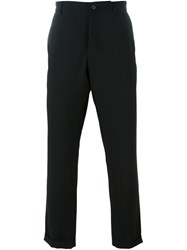 Ann Demeulemeester Grise Cropped Trousers Black