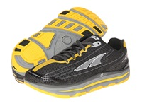 Altra Zero Drop Footwear Repetition Black Lemon Chrome Men's Running Shoes