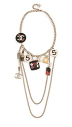 Wgaca What Goes Around Comes Around Chanel Cosmetics Necklace Multi Silver