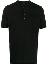 Tom Ford Short Sleeves Buttoned T Shirt 60