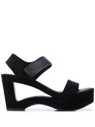 Pedro Garcia Cut Out High Heel Sandals 60