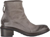 Marsell Back Zip Ankle Boots Grey
