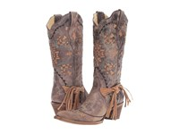 Corral Boots A2992 Cognac Tobacco Women's Brown