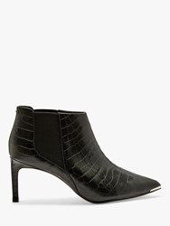 Ted Baker Berincc Leather Pointed Shoe Boots Black