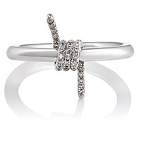 Fallon Women's Barbed Wire Ring Silver