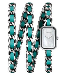 Chanel Stainless Steel Rock Pop Watch Turquoise