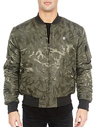 Cult Of Individuality Reversible Bomber Jacket Army Camo