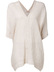 Arts And Science V Neck Kaftan Nude And Neutrals