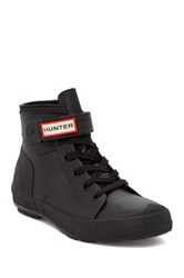 Hunter Original High Top Boot Black