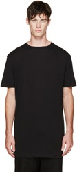 Thamanyah Black Fine Cotton T Shirt