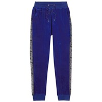 Blood Brother Omega Blue Velvet Jogging Trousers