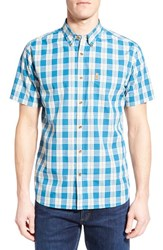 Fjall Raven Men's Fj Llr Ven ' Vik' Plaid Short Sleeve Plaid Sport Shirt