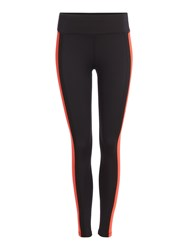 Label Lab Colour Blocked Tape Legging Red