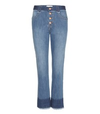See By Chloe Straight Jeans Blue